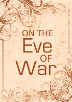 cover for ON THE EVE OF WAR
